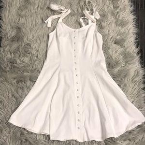 White Cami Dress